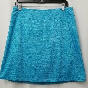Segments Luxe Skorts Sz L Womens Blue